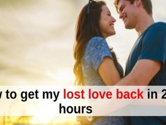 Dua To Get Lost Love Back